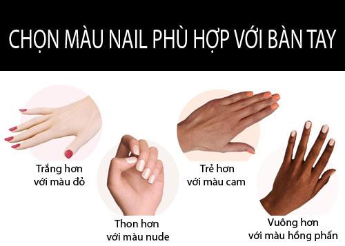 chon mau nail phu hop voi mau da cua ban - 1