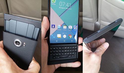 blackberry xac nhan sap ra mat dien thoai blackberry priv chay android - 5