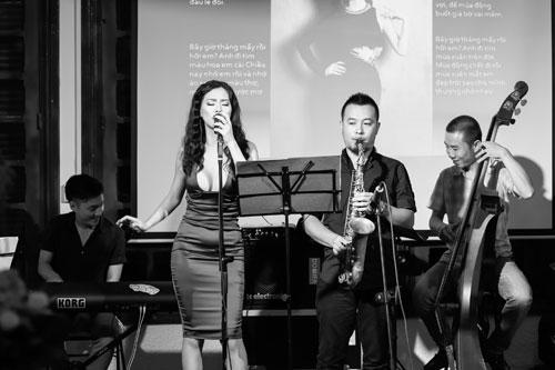 """""""mua thu cho lan huong"""": khong gian jazz lang dong - 2"""