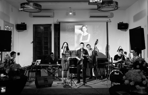 """""""mua thu cho lan huong"""": khong gian jazz lang dong - 4"""