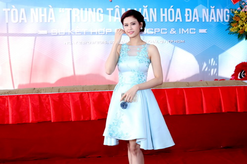 """truong quynh anh """"le bong"""" van xinh dep man ma - 4"""