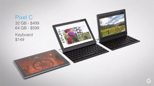google ra mat tablet pixel c thach thuc apple, microsoft - 1