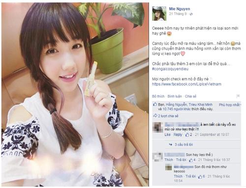hot girl viet dieu da voi son moi chuyen hong - 5