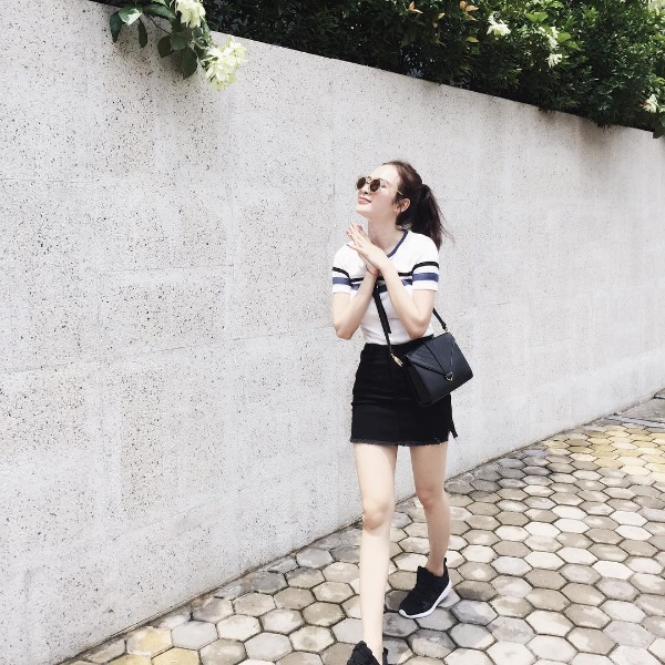 Chán quyến rũ Angela Phương Trinh lại về với style gái ngoan-2