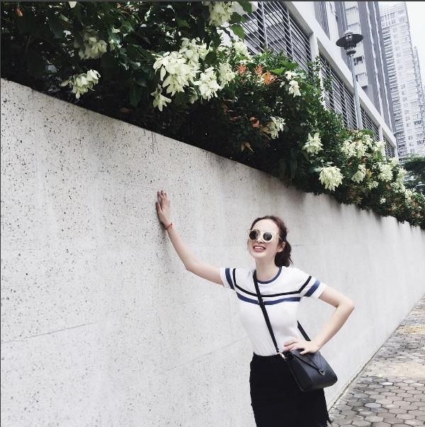 Chán quyến rũ Angela Phương Trinh lại về với style gái ngoan-1