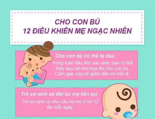cho con bu: 12 dieu bac si khong noi voi me - 1