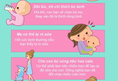 cho con bu: 12 dieu bac si khong noi voi me - 2