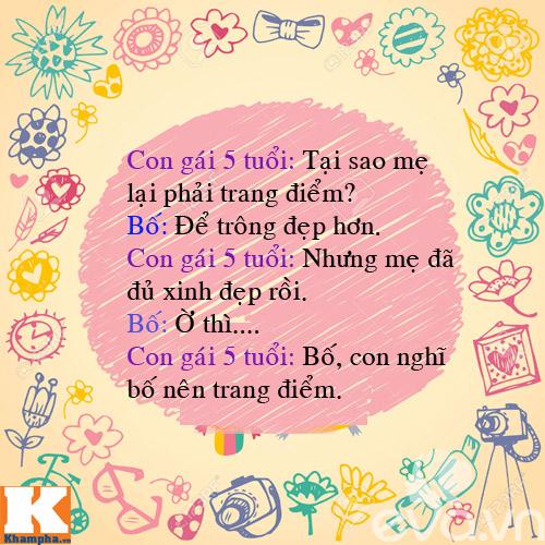 "man doi dap sieu de thuong cua bo voi 4 con gai ""nghich nhu quy"" - 3"