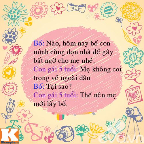 "man doi dap sieu de thuong cua bo voi 4 con gai ""nghich nhu quy"" - 11"