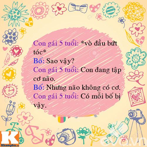 "man doi dap sieu de thuong cua bo voi 4 con gai ""nghich nhu quy"" - 14"