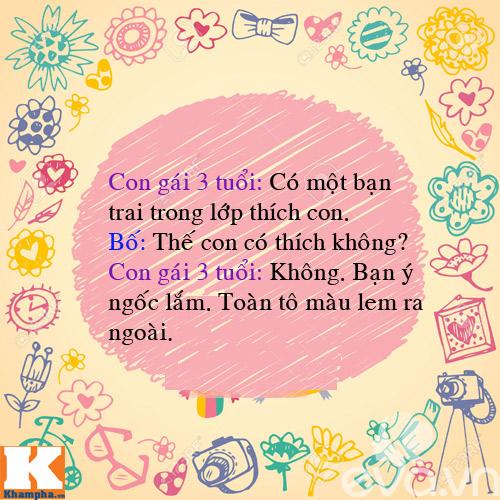 "man doi dap sieu de thuong cua bo voi 4 con gai ""nghich nhu quy"" - 10"