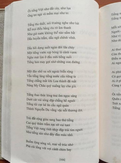 "tranh cai ve bai tho ""tieng viet"": ban nao la chuan, ban nao hay? - 2"