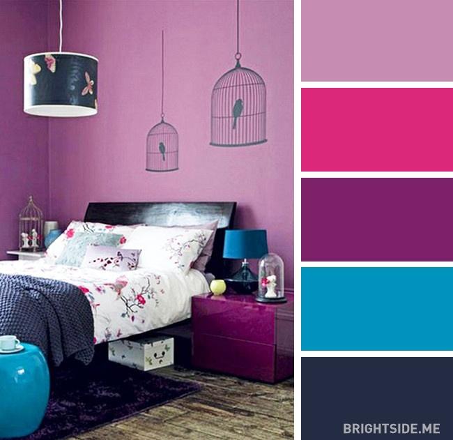 20 bộ màu hoàn hảo cho phòng ngủ hiện đại và phong cách-2