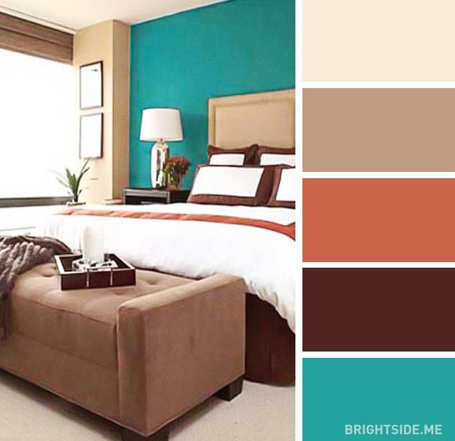 20 bộ màu hoàn hảo cho phòng ngủ hiện đại và phong cách-3