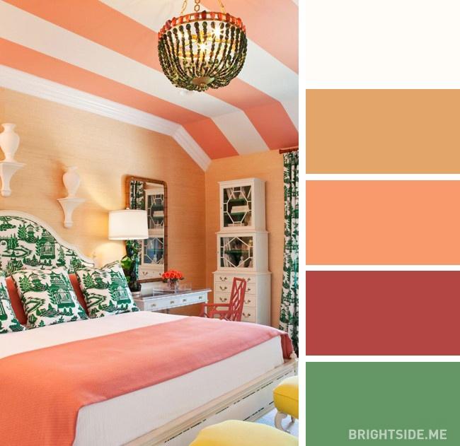 20 bộ màu hoàn hảo cho phòng ngủ hiện đại và phong cách-4