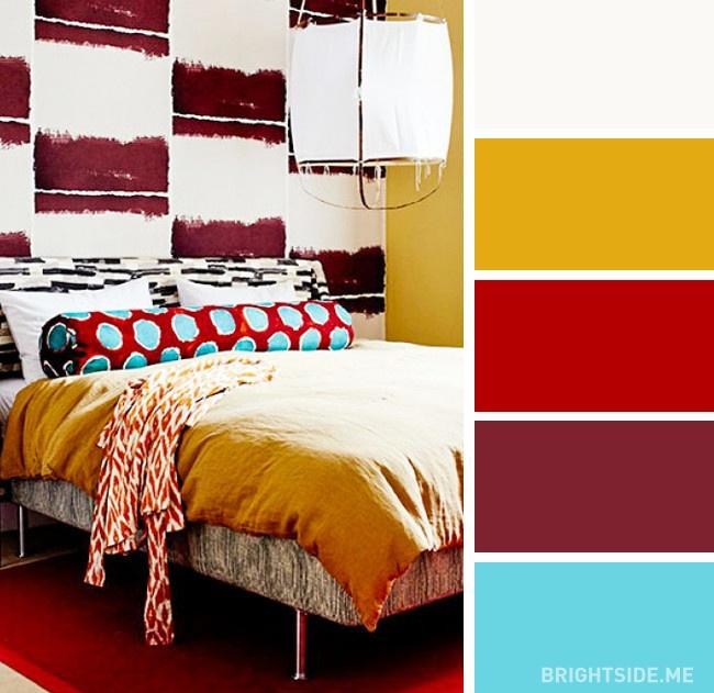 20 bộ màu hoàn hảo cho phòng ngủ hiện đại và phong cách-6