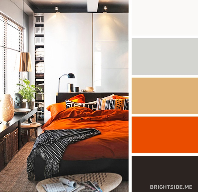 20 bộ màu hoàn hảo cho phòng ngủ hiện đại và phong cách-7