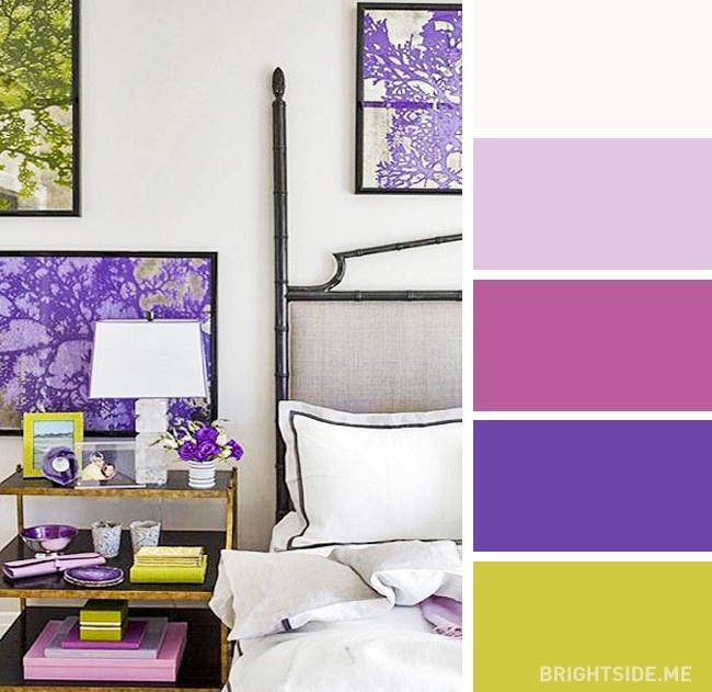 20 bộ màu hoàn hảo cho phòng ngủ hiện đại và phong cách-8