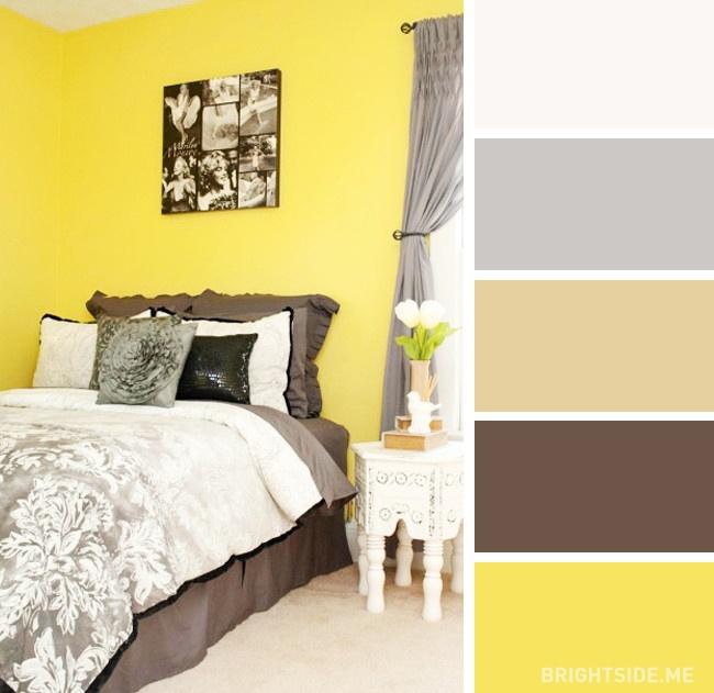 20 bộ màu hoàn hảo cho phòng ngủ hiện đại và phong cách-9