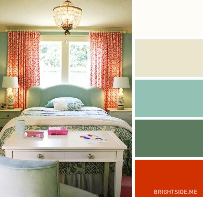 20 bộ màu hoàn hảo cho phòng ngủ hiện đại và phong cách-10