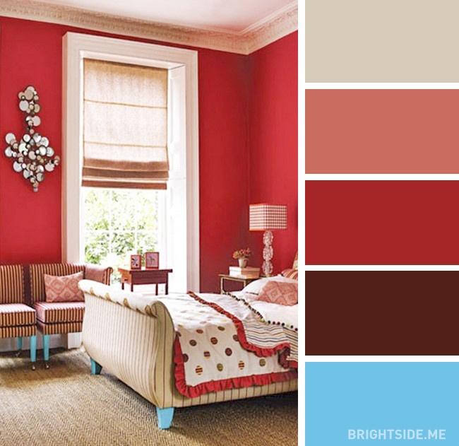 20 bộ màu hoàn hảo cho phòng ngủ hiện đại và phong cách-13