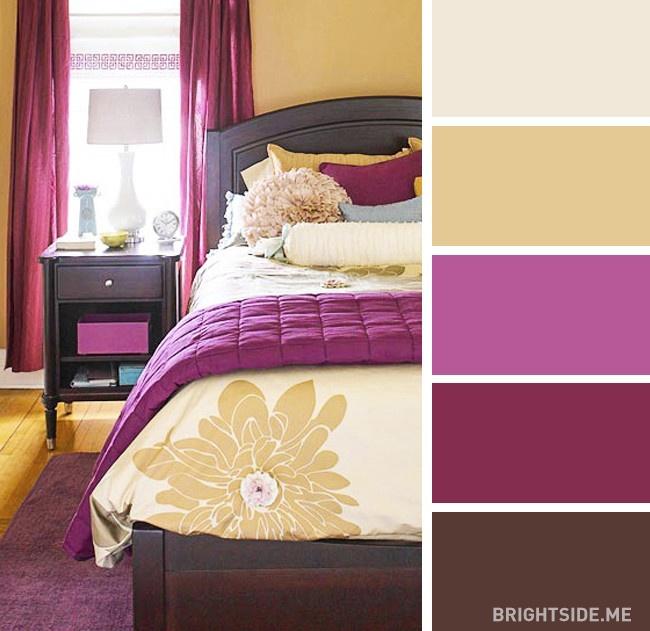 20 bộ màu hoàn hảo cho phòng ngủ hiện đại và phong cách-14
