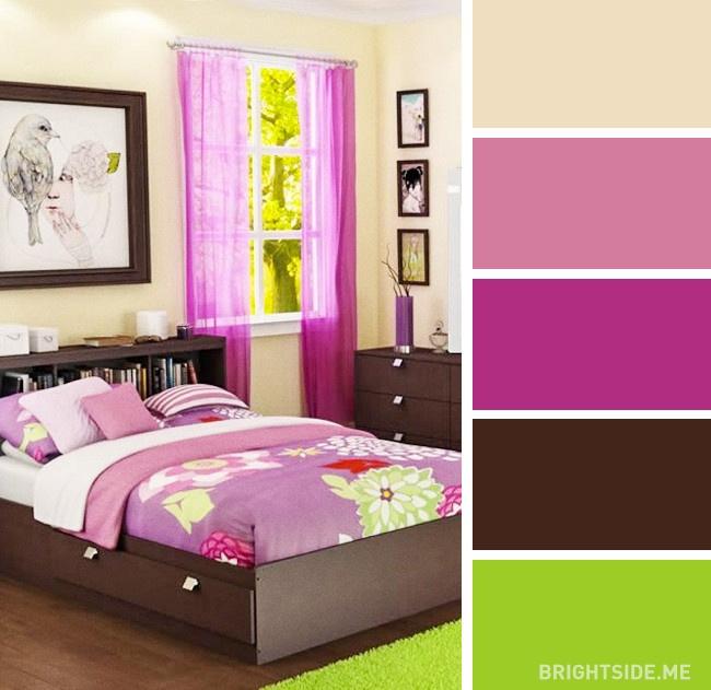 20 bộ màu hoàn hảo cho phòng ngủ hiện đại và phong cách-15