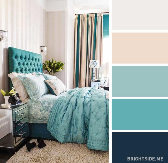20 bộ màu hoàn hảo cho phòng ngủ hiện đại và phong cách-16