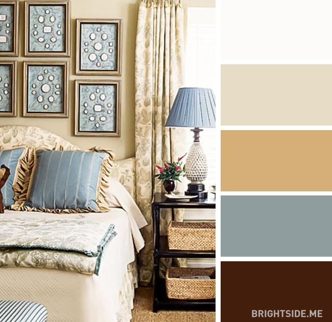 20 bộ màu hoàn hảo cho phòng ngủ hiện đại và phong cách-17