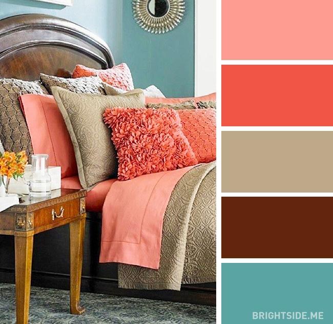20 bộ màu hoàn hảo cho phòng ngủ hiện đại và phong cách-18