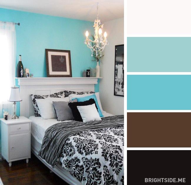 20 bộ màu hoàn hảo cho phòng ngủ hiện đại và phong cách-19