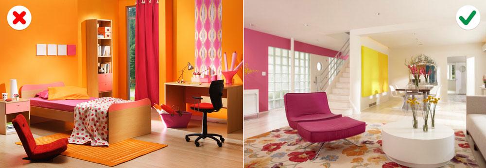 10 sai lầm về màu sắc khiến căn nhà trở nên xấu xí-10