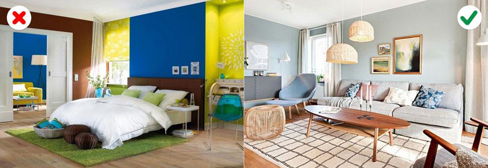 10 sai lầm về màu sắc khiến căn nhà trở nên xấu xí-9