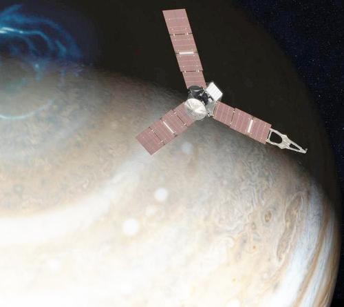 Tàu vũ trụ của NASA đã tiếp cận Sao Mộc thành công-9