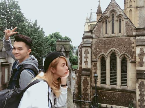 Vắng vợ, Nam Cường tình cảm cùng Việt My tại London-10