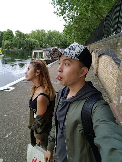 Vắng vợ, Nam Cường tình cảm cùng Việt My tại London-3