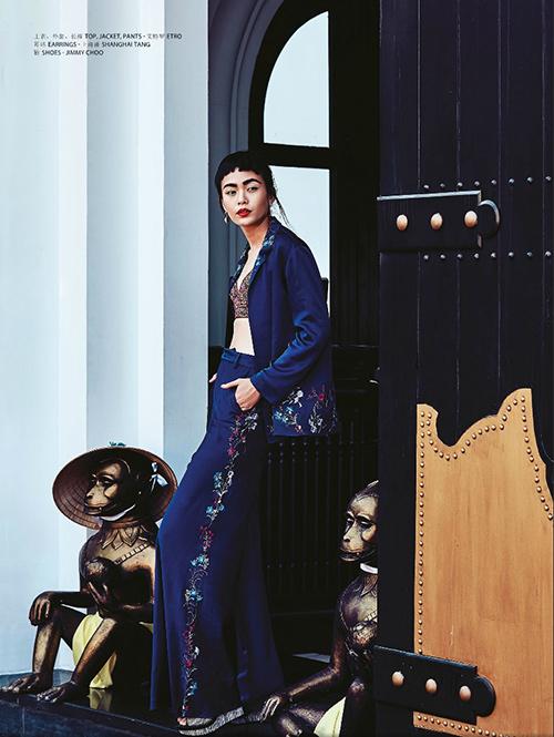 Mâu Thủy lên trang bìa tạp chí thời trang Macao-2