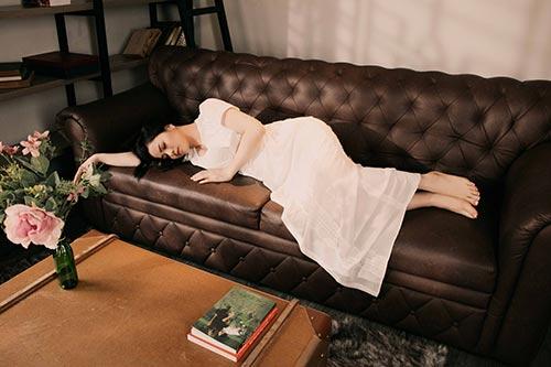 """Nhật Kim Anh đẹp mơ màng, gợi cảm """"gái một con""""-3"""