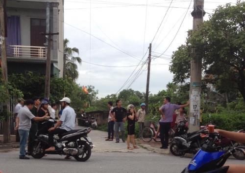 vu no sung o ha nam: giam doc cong an tinh len tieng - 1