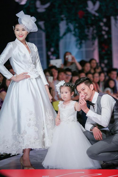 """Huy Khánh: """"Con gái tôi muốn bố mẹ làm đám cưới""""-2"""