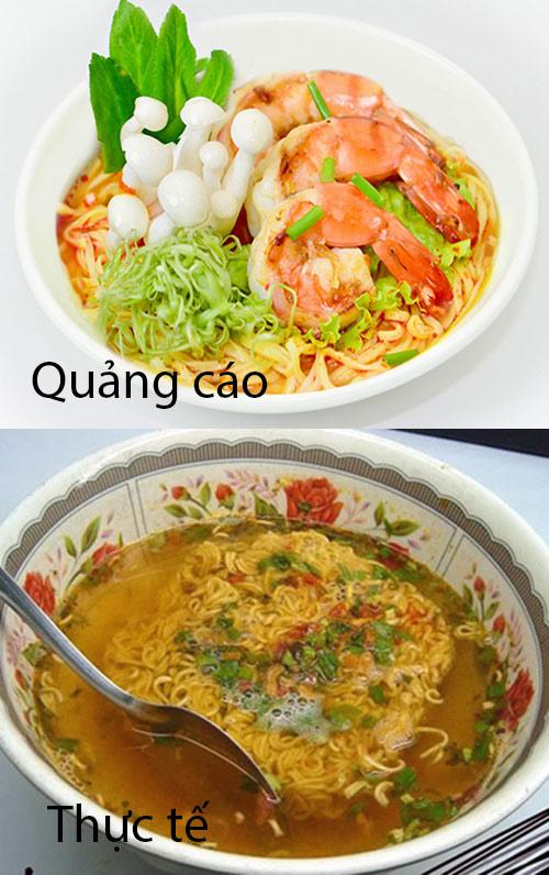 """khoc do meu do voi nhung """"tham hoa"""" do an quang cao va thuc te - 6"""