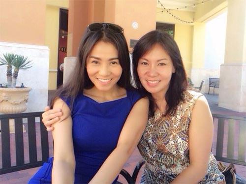 Lộ diện chị gái xinh đẹp của Thu Minh-2