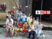Tin tức - Cặp vợ chồng Trung Quốc sinh 15 con trong vòng 21 năm