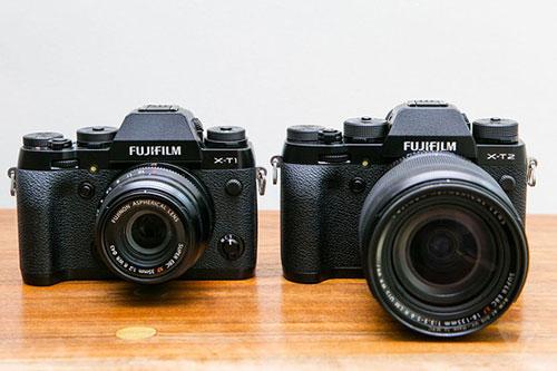 x-t2, may anh mirrorless chuyen nghiep quay 4k tu fujifilm - 1