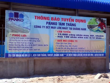 quang nam: hon 1.000 cong nhan dong loat nghi viec doi giai quyet che do - 1