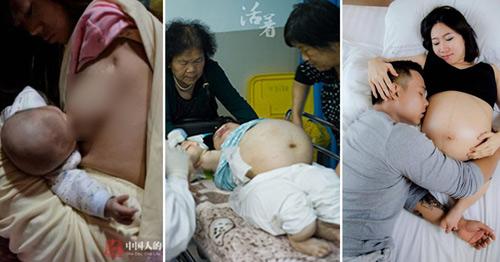 chuyen mang bau, sinh con cua 3 ba me tat nguyen lay dong trieu trai tim - 1