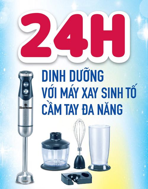 24h dinh duong voi may xay sinh to cam tay da nang - 1