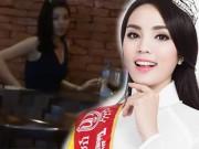 Làng sao - Sau clip Kỳ Duyên hút thuốc lá: BTC Hoa hậu Việt Nam nhắc nhở