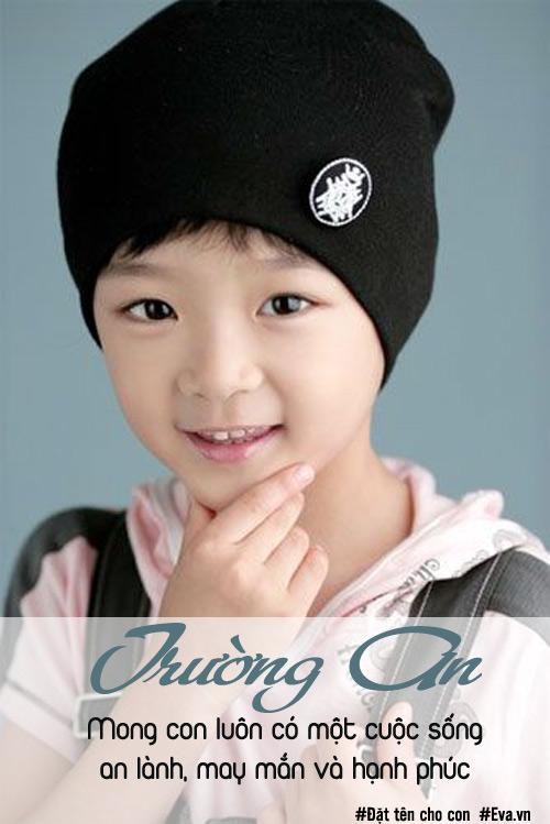nhung cai ten hay cho con trai thanh cong, hanh phuc - 1
