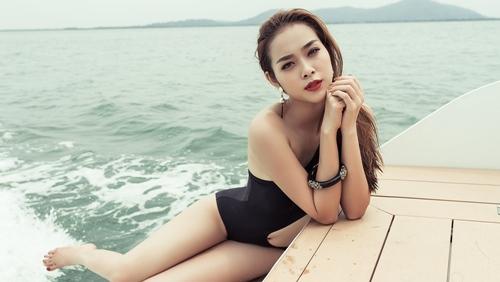 diep bao ngoc tu tin khoe vong eo 58cm voi bikini - 7
